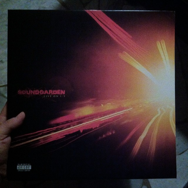 Sound-late afternoon #soundgarden #liveoni5 #live #LP #vinyl...