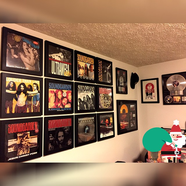 Decided to do another Wall of Soundgarden to celebrate the r...