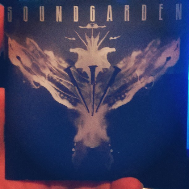 Listening to this one! #EchoOfMiles by @soundgarden #NowPlay...
