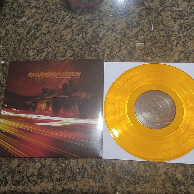 """Picked up this Soundgarden 10"""" the other day, and I love it!..."""